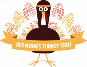 The Des Moines Turkey Trot - 2018 logo
