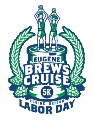 Eugene Brews Cruise 5K logo